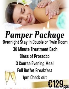 1 Night Pamper Package